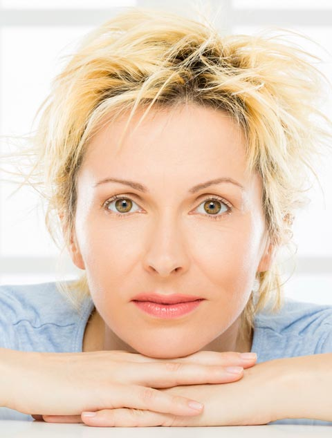 Triniti Treatment Orange County - women after anti aging treatment